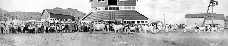 Field Day, Consolidated Mining & Smelting Co. Ltd. Warfield farm (Hughes) - 1928