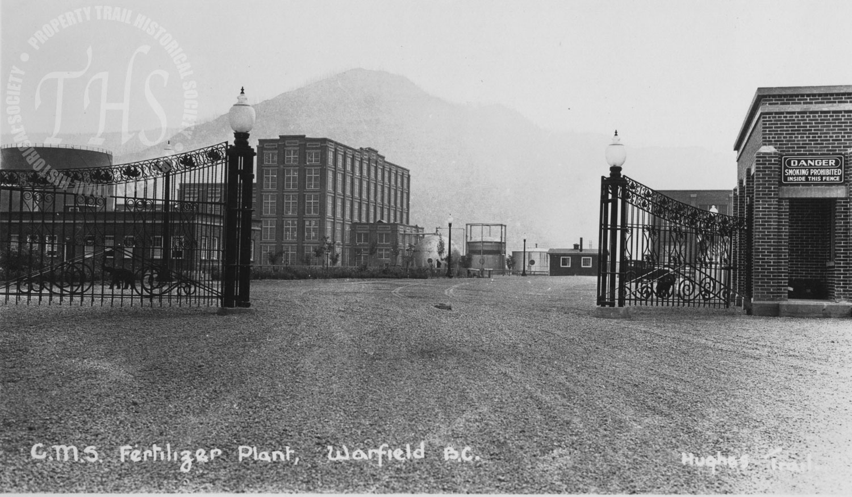 CM&S Fertilizer Plant, Warfield – Main Gates (Hughes) - 1930