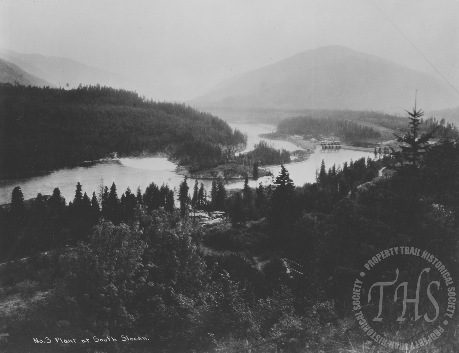 Overview of South Slocan Plant (Hughes) - 1930