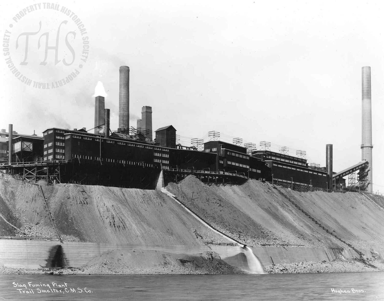 Slag fuming plant, Trail Smelter (Hughes) - 1932