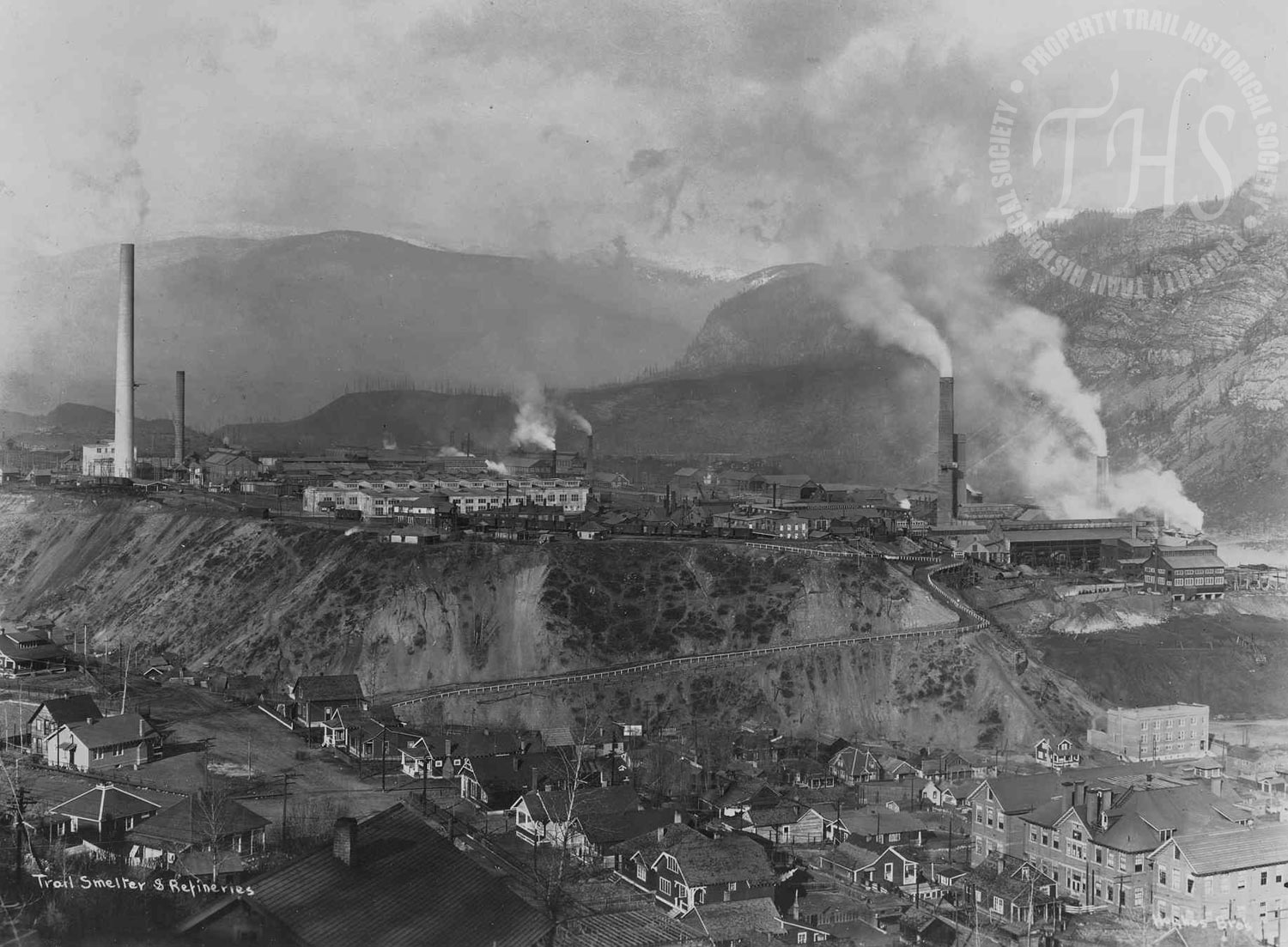 Smelter from Trail (Hughes) - 1935