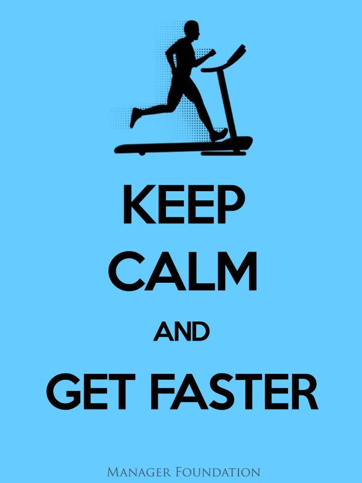 Beat the Competition - Keep Calm and get Faster.