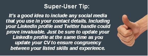 CV Writing Tip for Super Users Jpeg