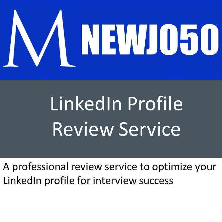 LinkedIn Profile Review Service Jpeg for Product Order
