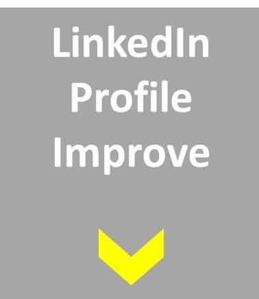 LinkedIn Profile Review Service Product option 2 Profile Improve