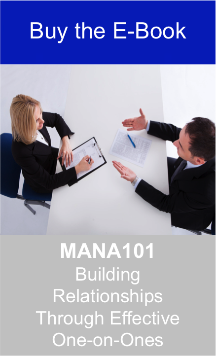Manager Training Course - How to Build Good Employer Employee Relationships Through effective One-on-Ones Jpeg