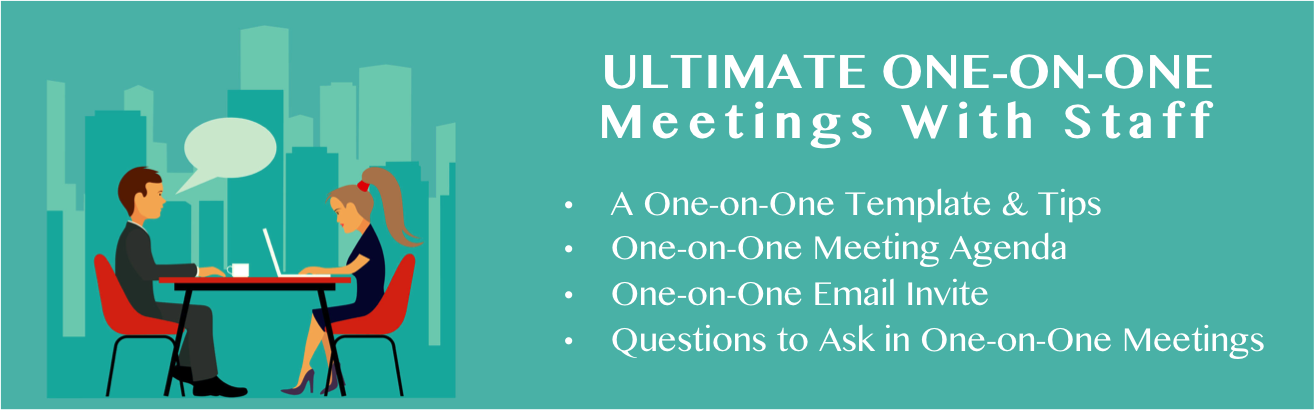 The Best One On One Meeting Agenda Manager Foundation