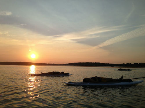 Koha_SUP_Yoga_sunset_Pewaukee