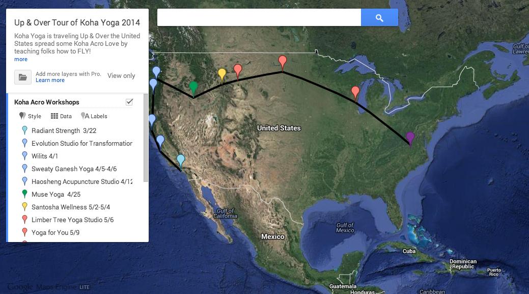 Our 2014 Tour so Far