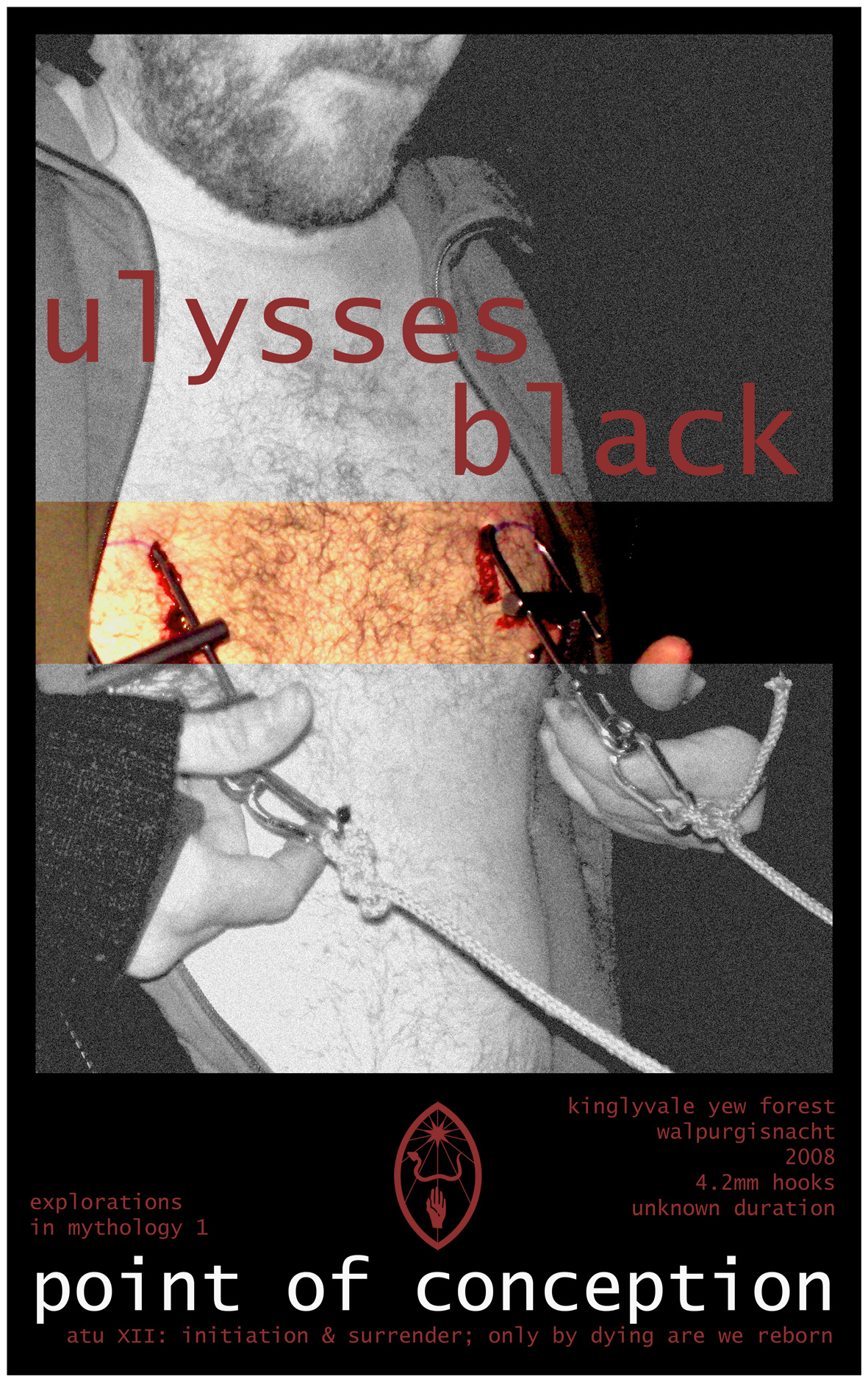Poster commemorating the start of what would become the Ulysses Black Initiative, with Exploration 1.