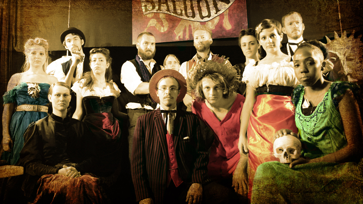 The FoulPlayers of the Stars and Skull Saloon, for Epoch! Brighton Fringe 2009.