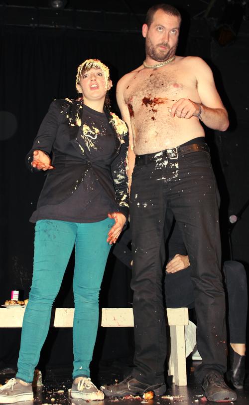 Annie Brooks & Ulysses Black @ The Happy Clap Trap 2012