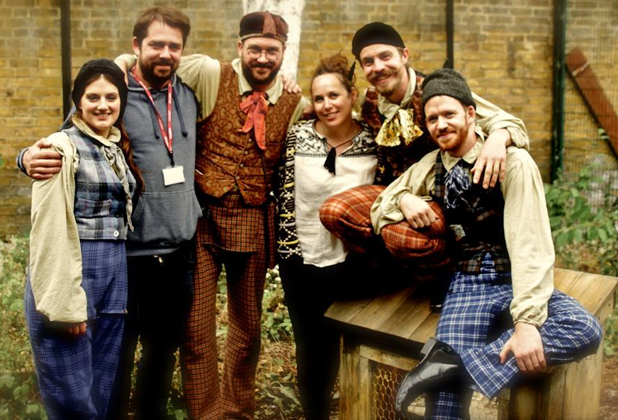 from Left to Right: Annie Brooks (FoulPlay), Glen Hughes (Tandem), Ulysses Black (FoulPlay), Michelle May (Costume), Alex Mannion-Jones (FoulPlay) and Jack Stigner (FoulPlay)