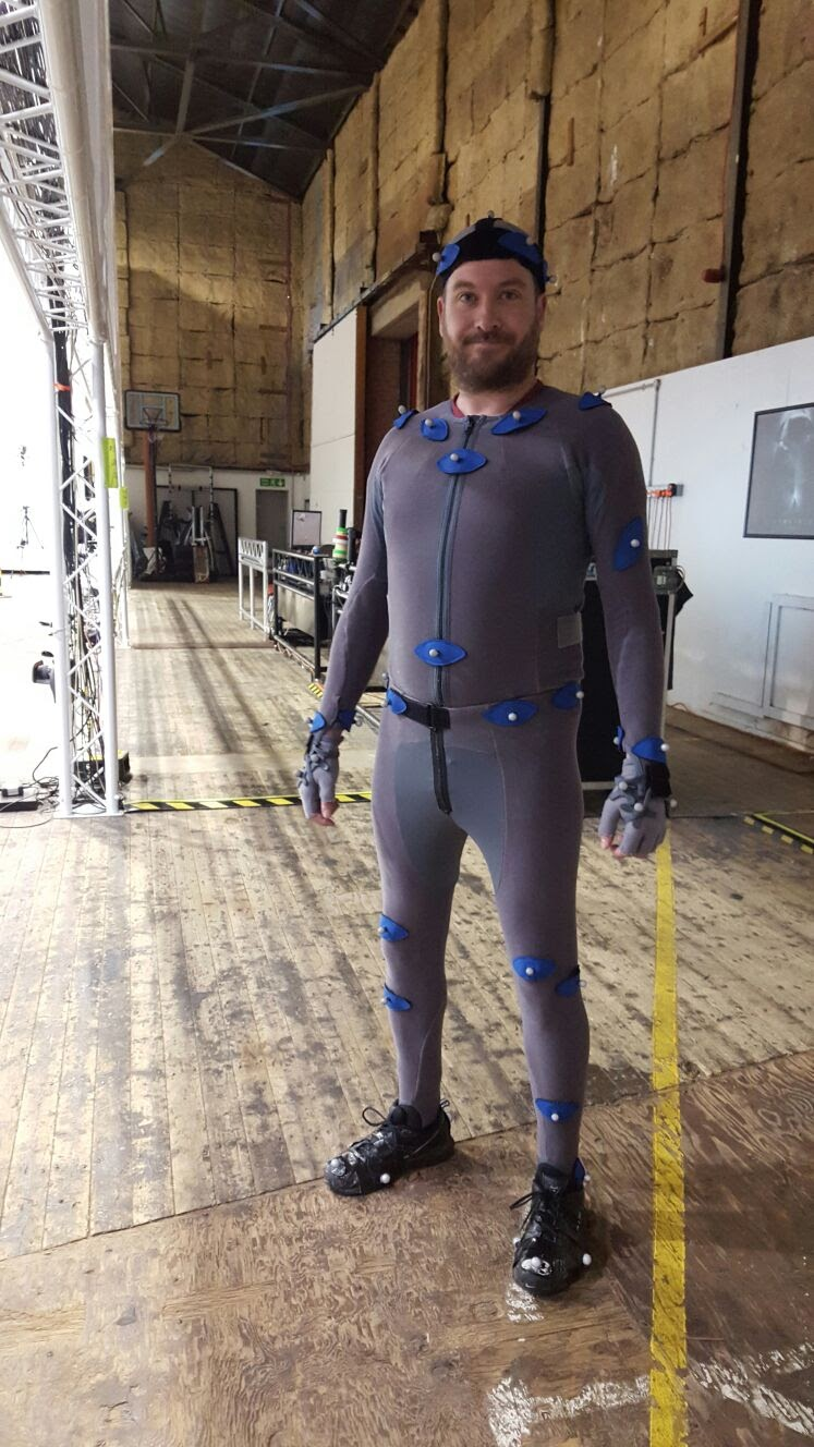 Motion Capture at Centroid, Sheppterton Studios, circa 2016?