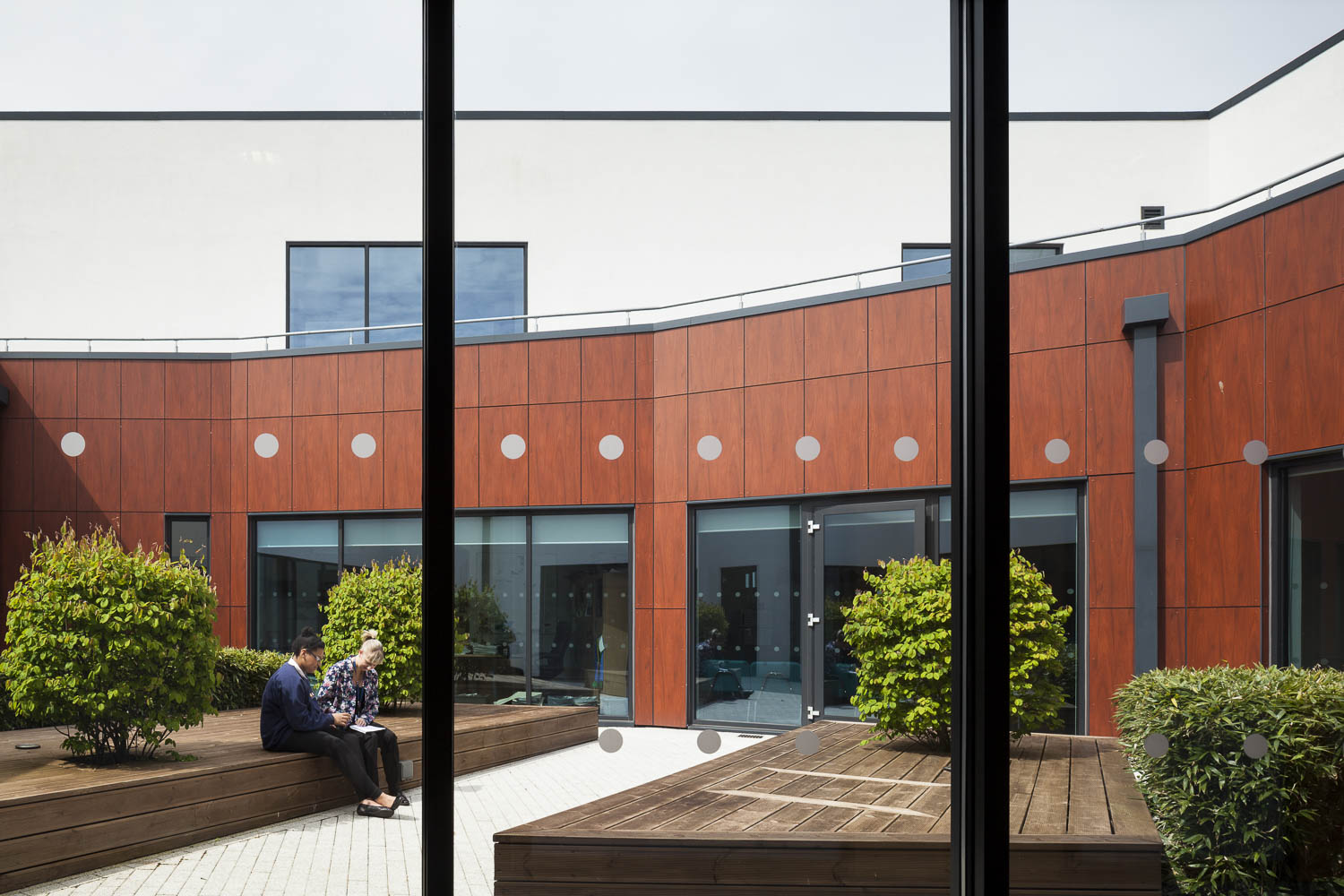 Central courtyard space