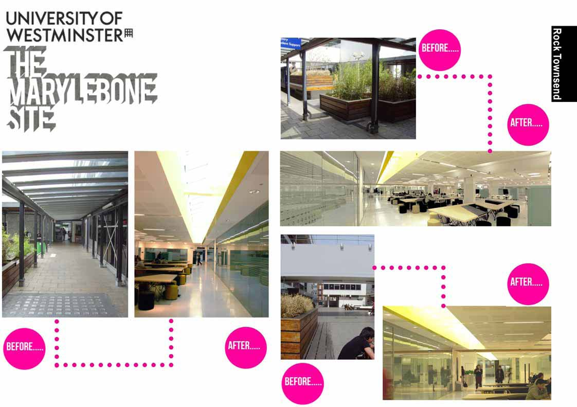 UoW Marylebone: Before & After