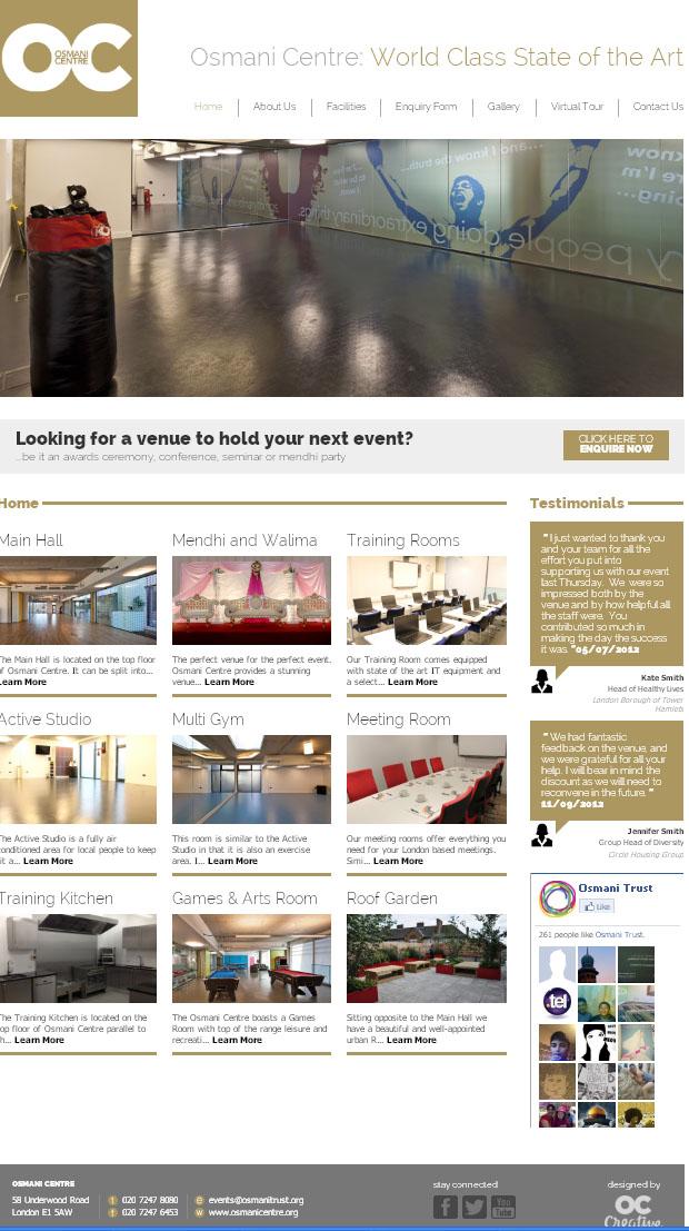 Osmani Centre Website