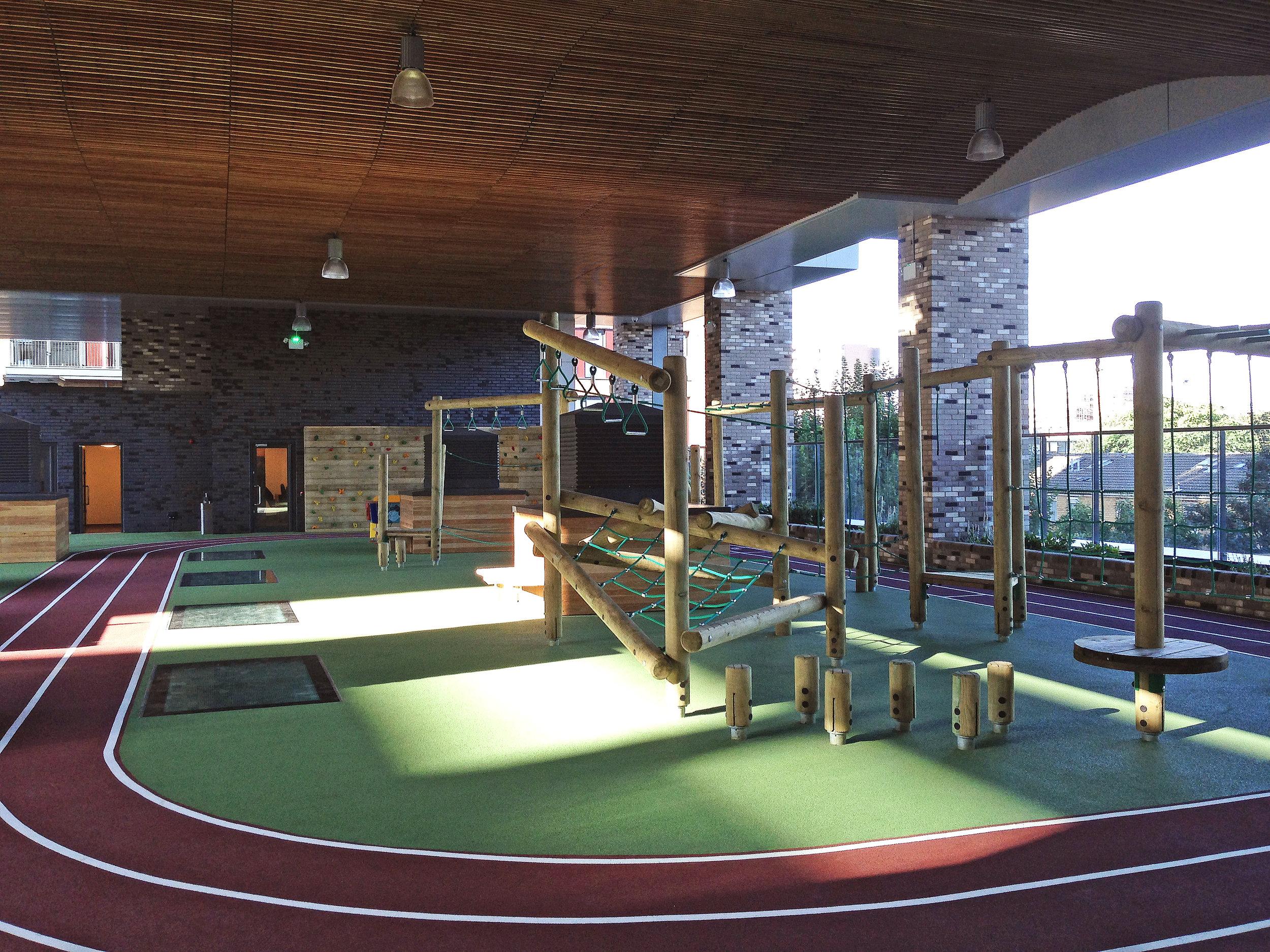 (JF) Second floor / deck level playground