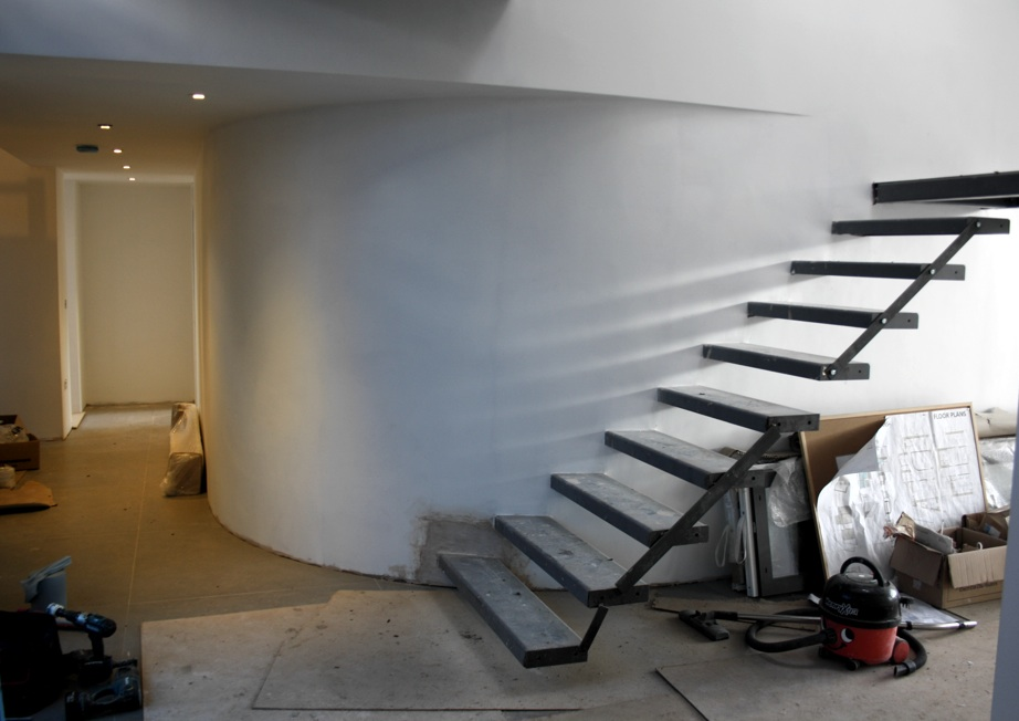 Progress shots at the low energy house