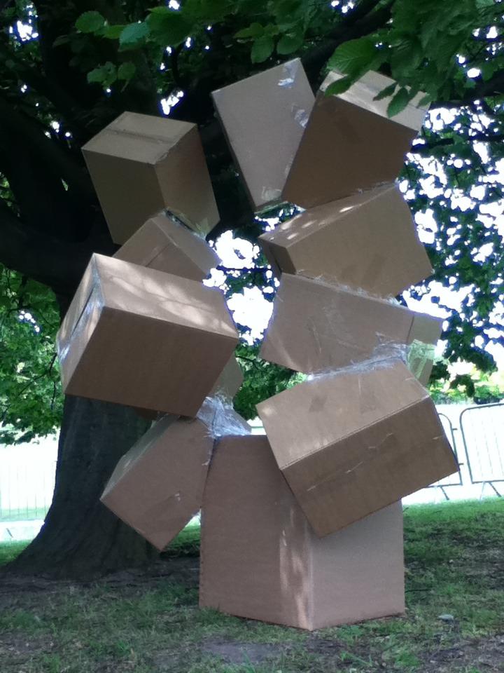 Getting sculptural