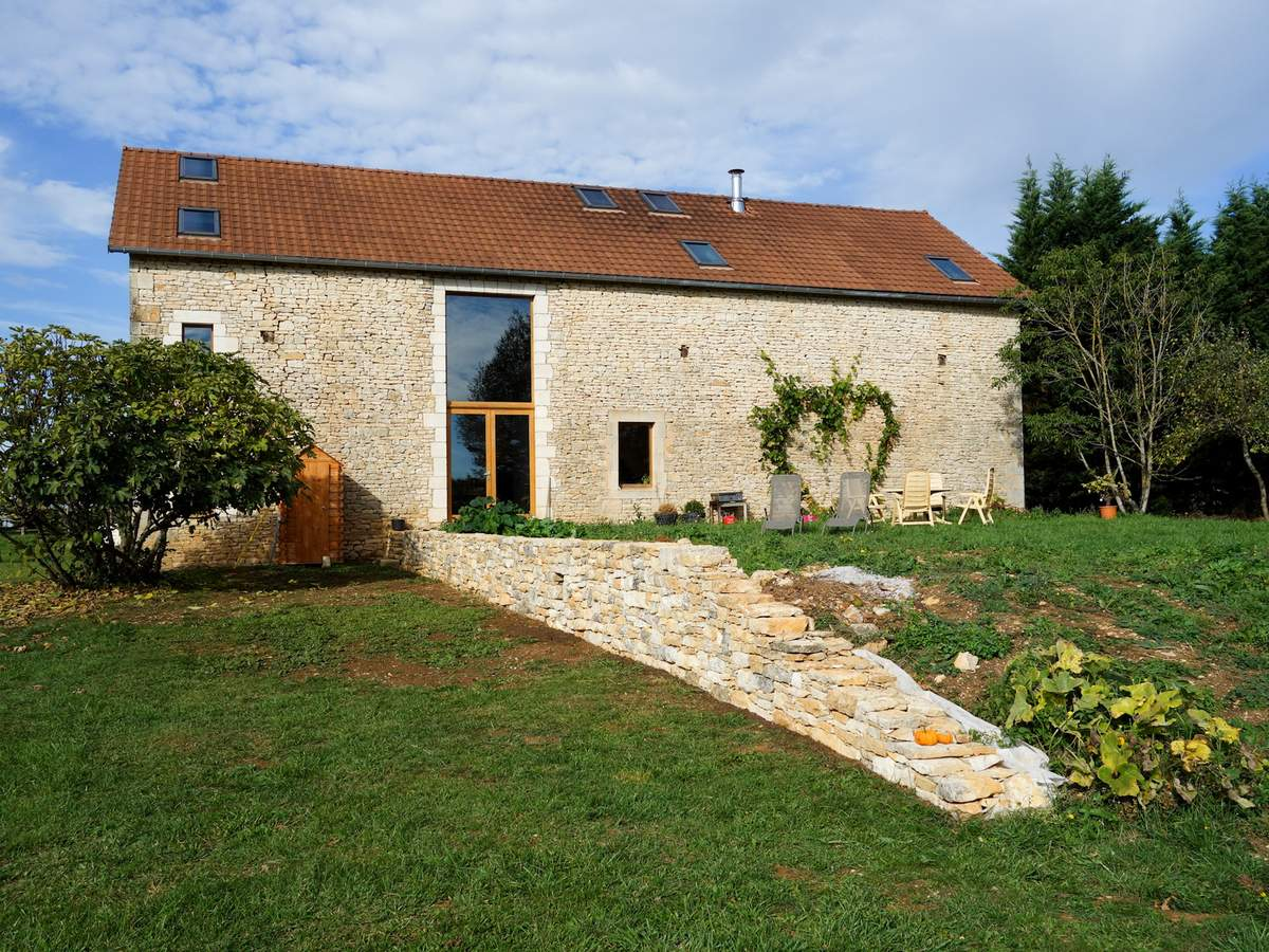 Exterior of the converted barn