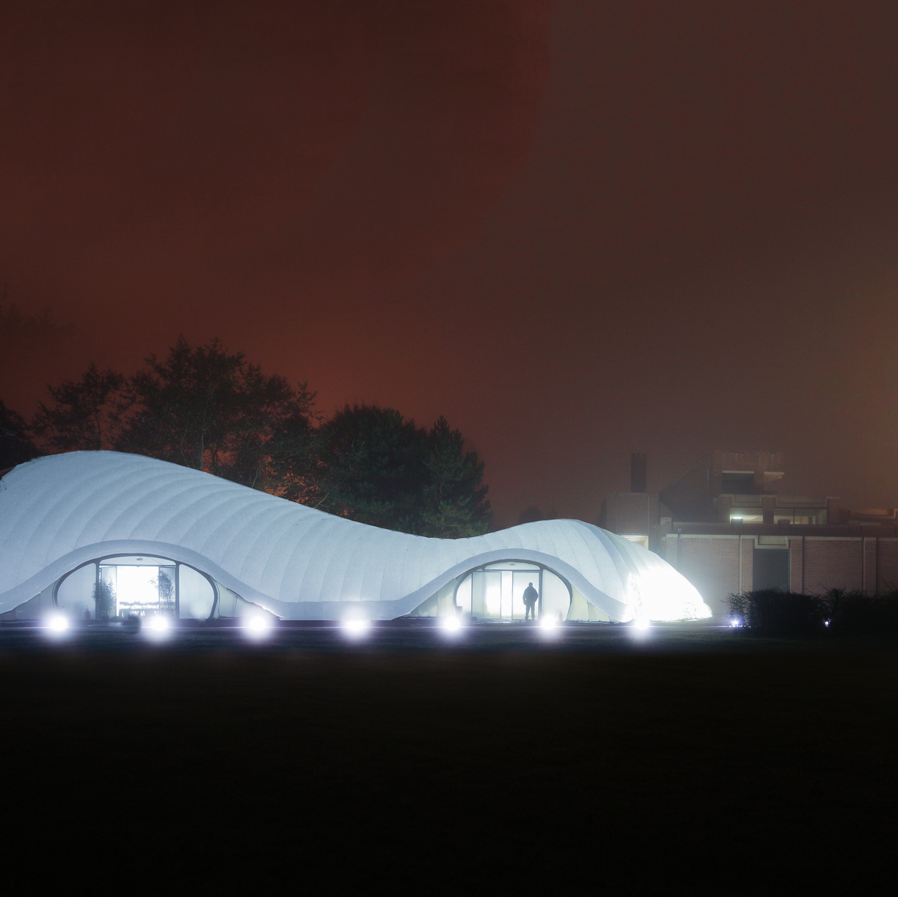 A diaphanous pavilion for the Lille Museum of Modern Art
