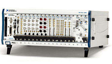 NI PXI Chassis with lots of modules