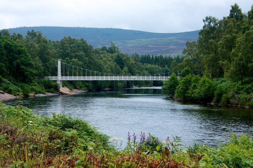Cambus O'May Footbridge