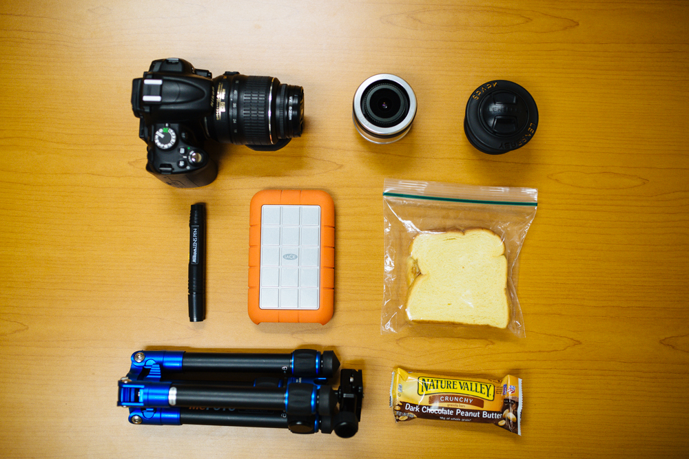 The small DSLR kit.