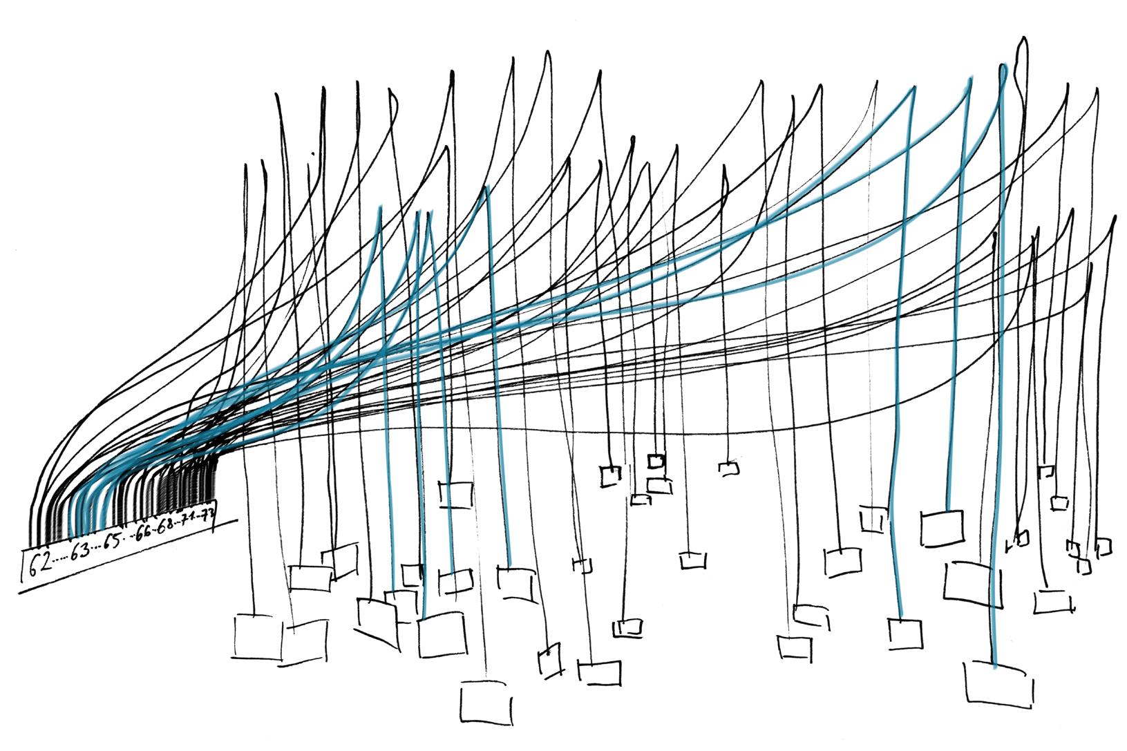 Fluxus Cloud with EL-Wire