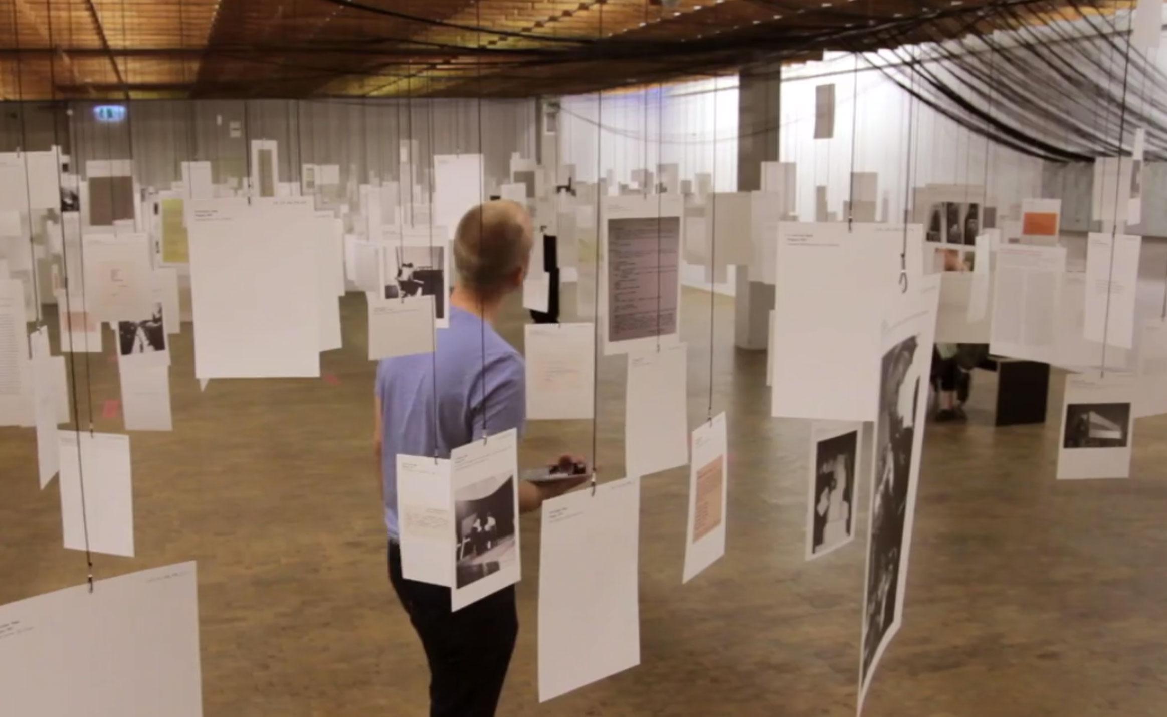 50 years European Fluxus Festivals  Interactive installation and touring exhibition