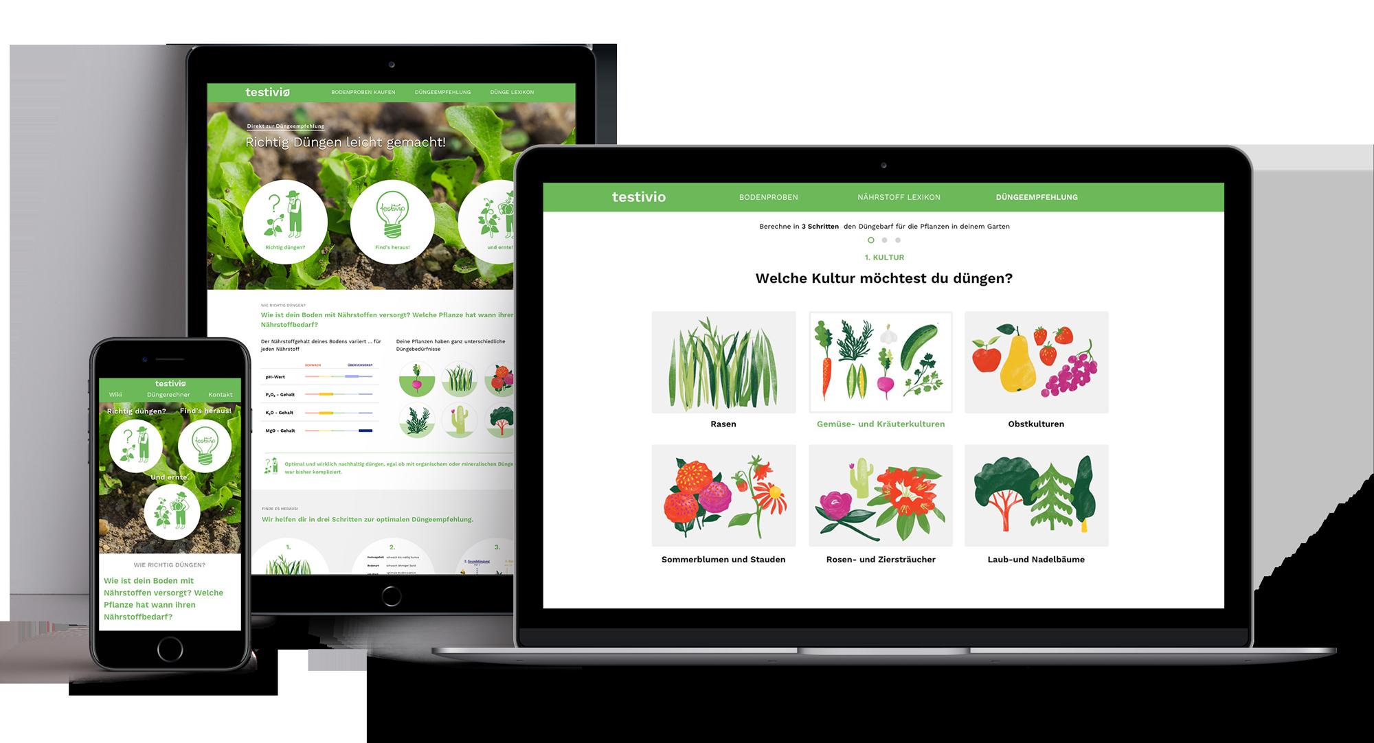 Gardener's assistant  website