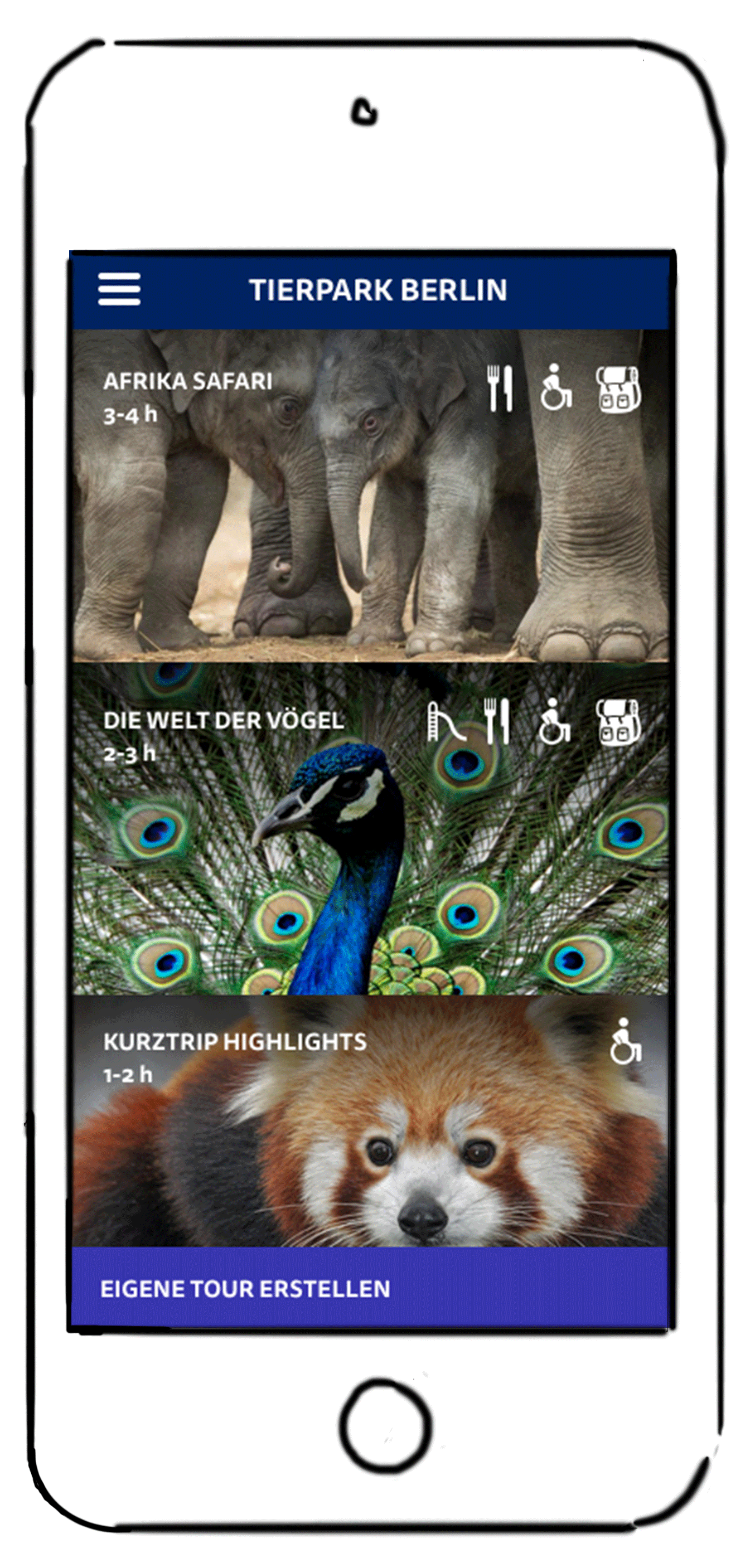 Zoo app  Case study about a mobile guide
