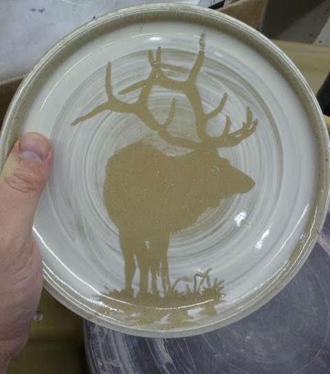 Elk Plate
