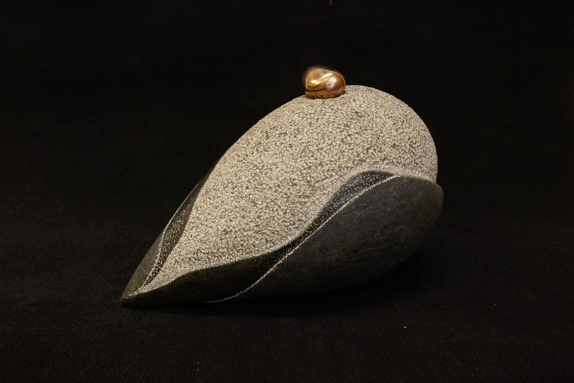 Origin   33x40x27 Granite Bronze (Private Collection, Australia) 2016