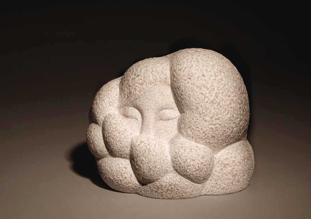 woman 7   20x24x19 marble (Private Collection, South Korea) 2009