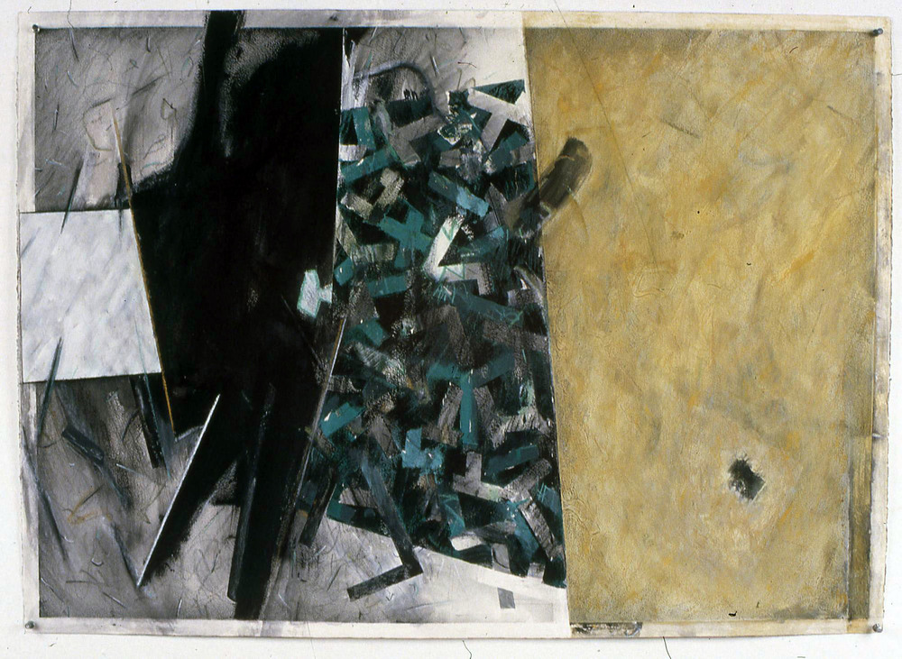 "Untitled    1989   Acrylic, graphite, and pastel on paper  41.5"" x 29.5""  (C-189)"