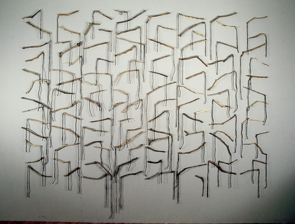 "The Fifth Season    1981  Work with Ropes  112"" x 132""  (R-001)"