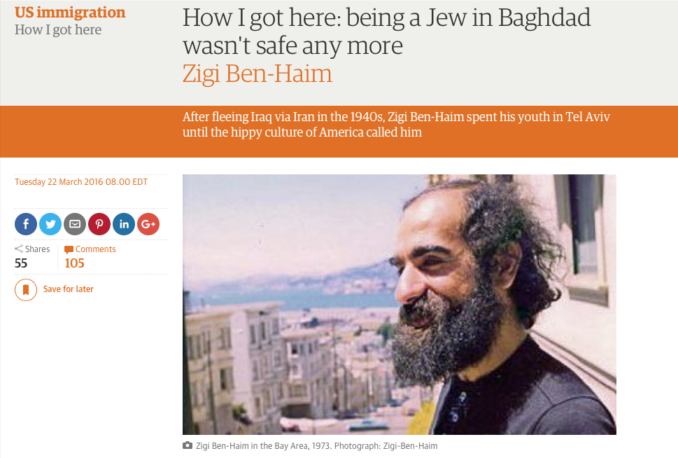 http://www.theguardian.com/commentisfree/2016/mar/22/being-jewish-in-baghdad-iraq-coming-to-america