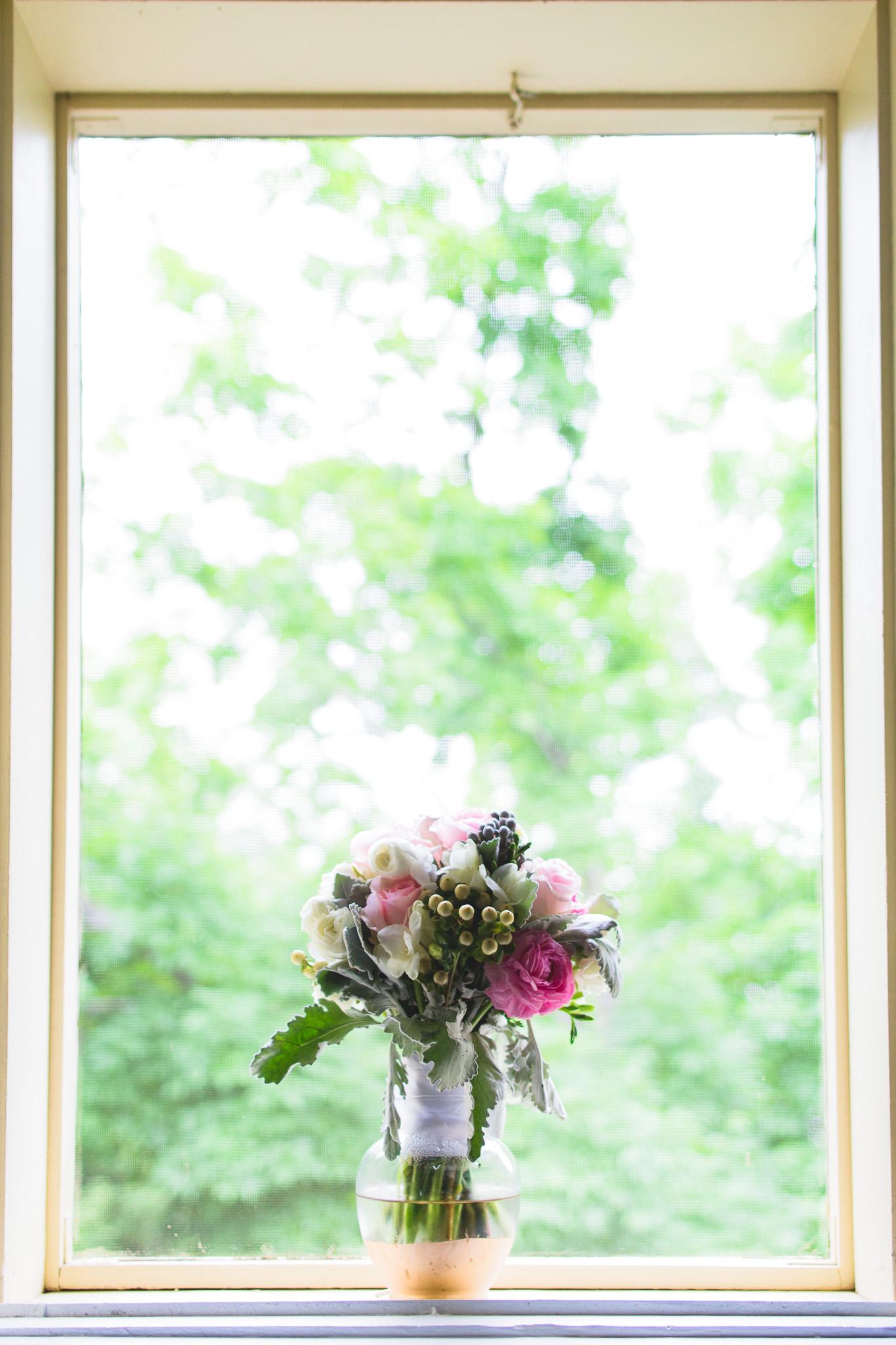 Bouquet-in-Window