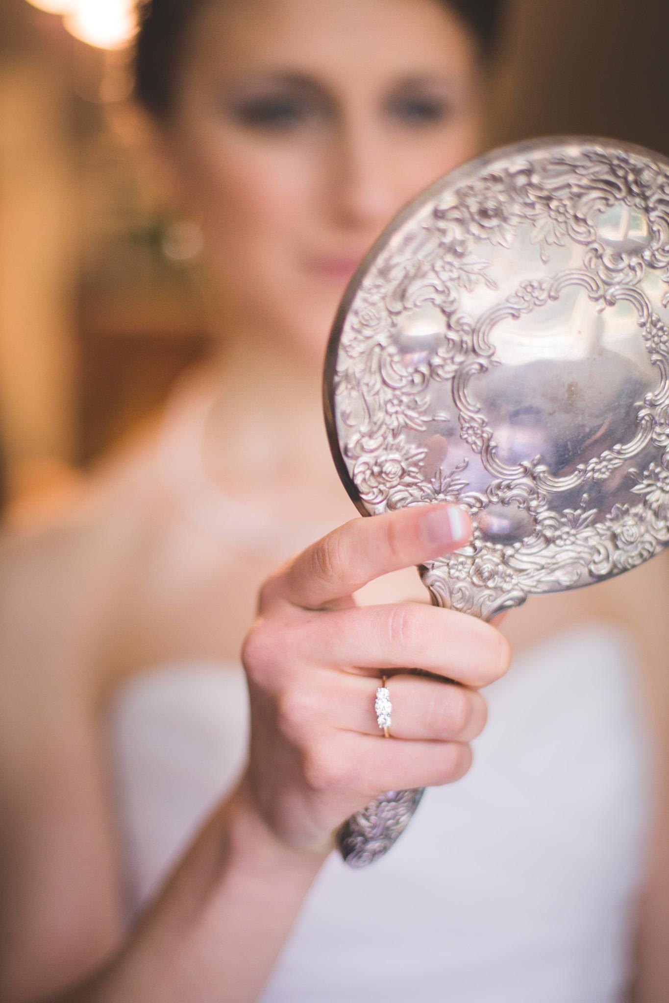 Bride-Looking-in-the-mirror