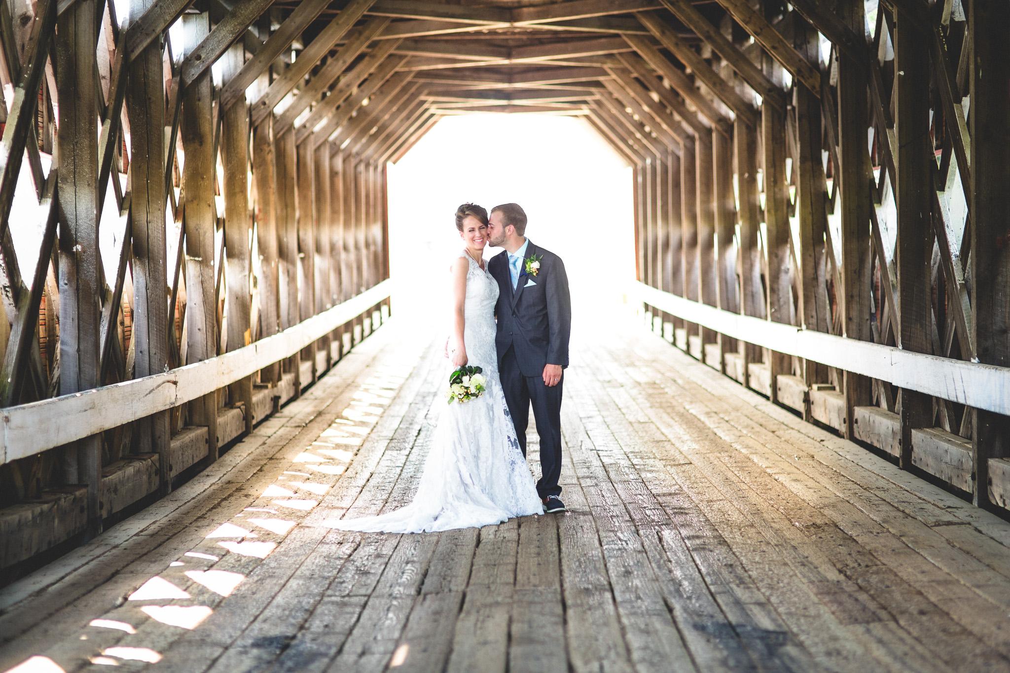 Covered-bridge-Quebec-Wedding