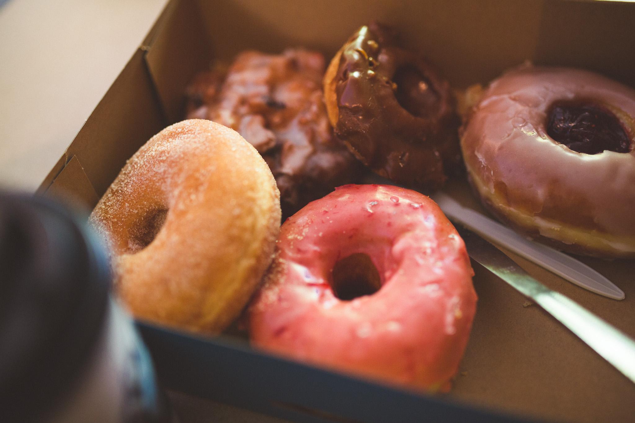 Amazing Seattle Doughnuts