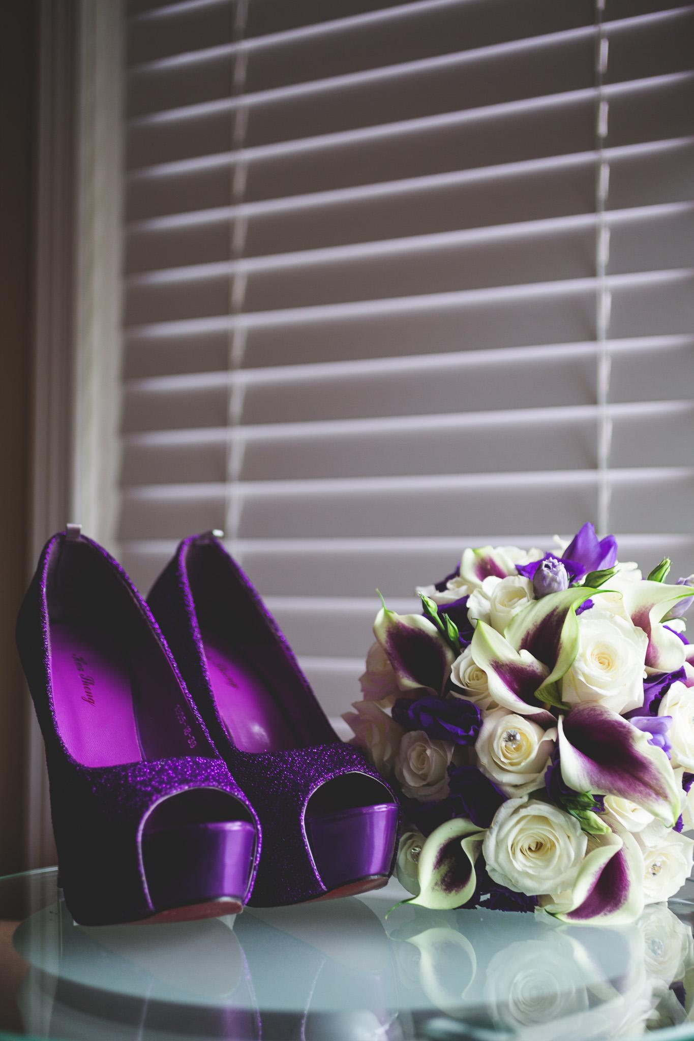 Purple-sparkley-wedding-shoes