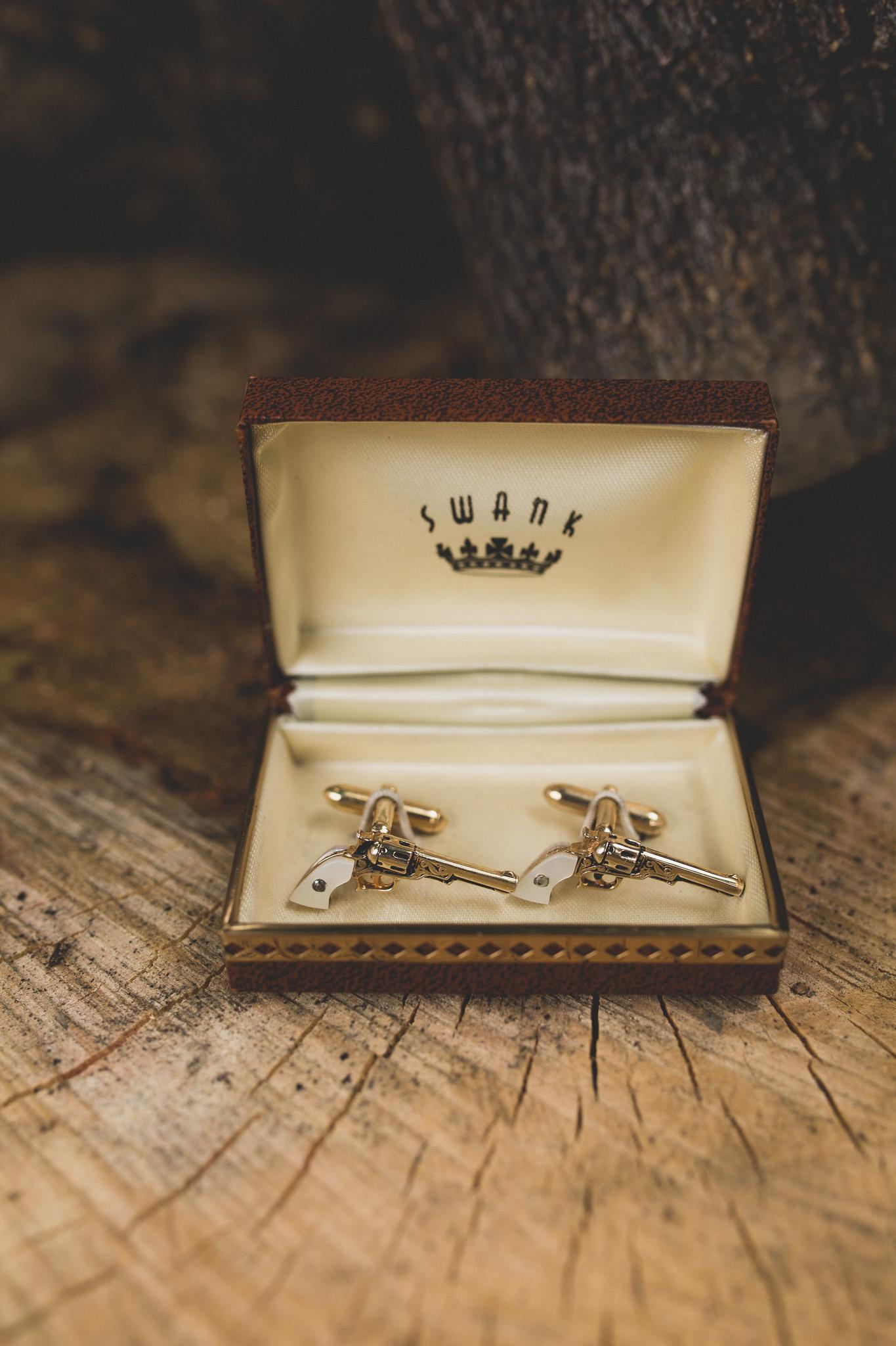 unique groom cufflinks