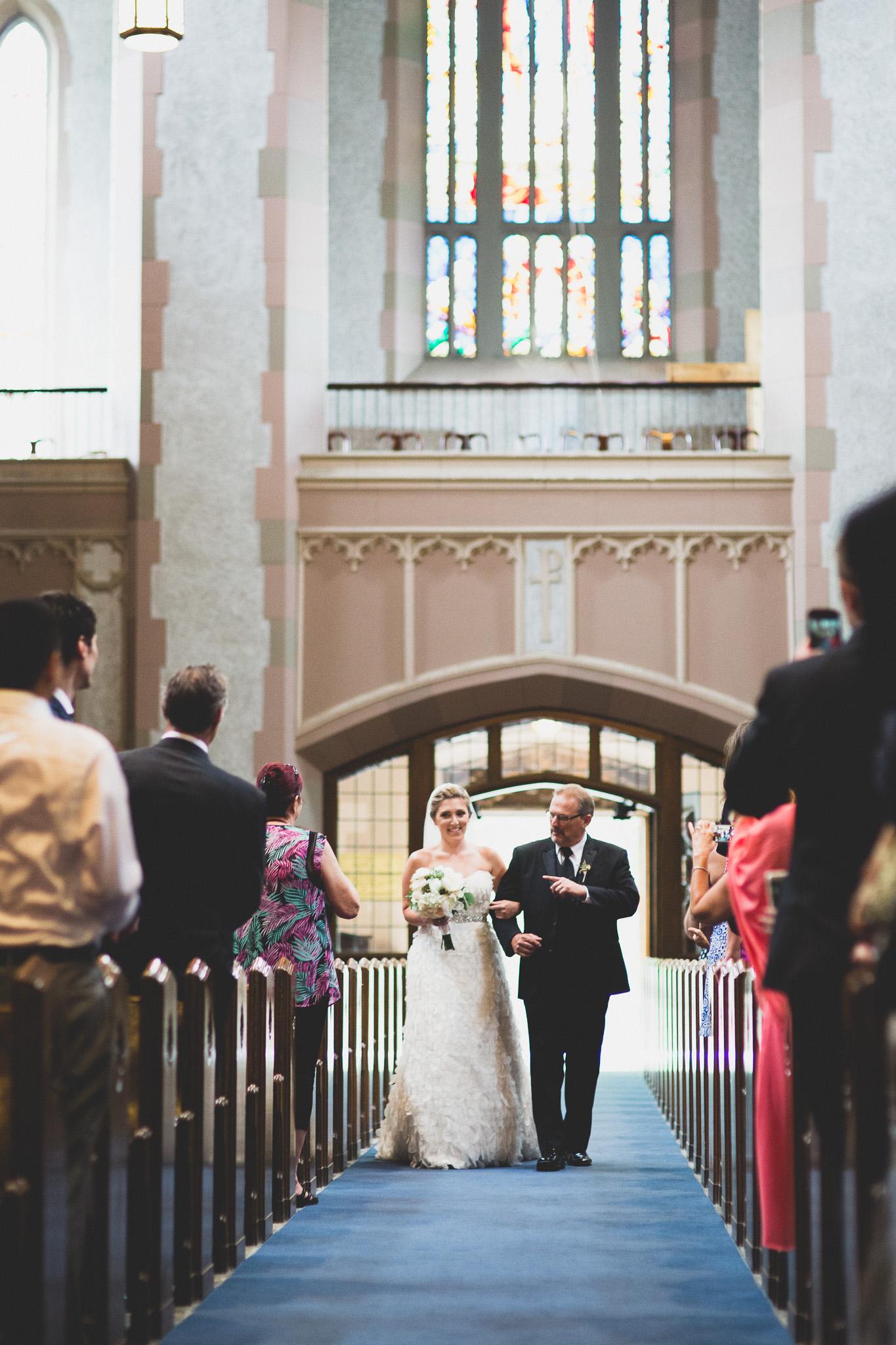 Blessed Sacrament Ottawa Wedding