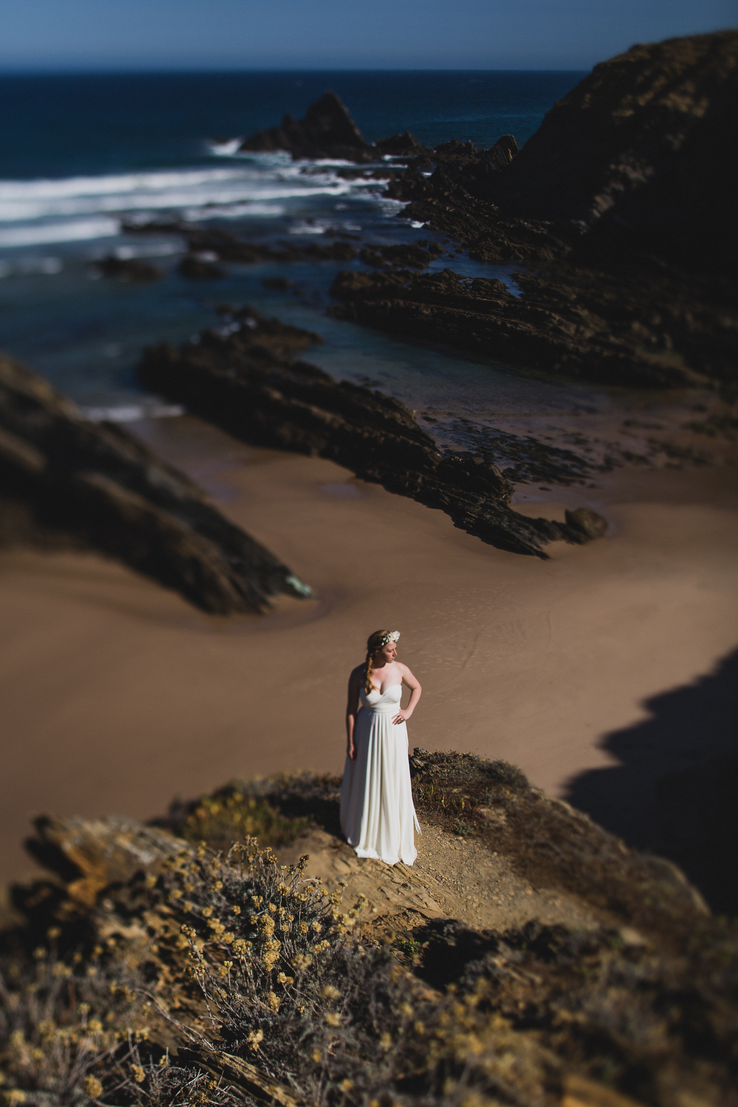 Epic portugal location for bridal portraits