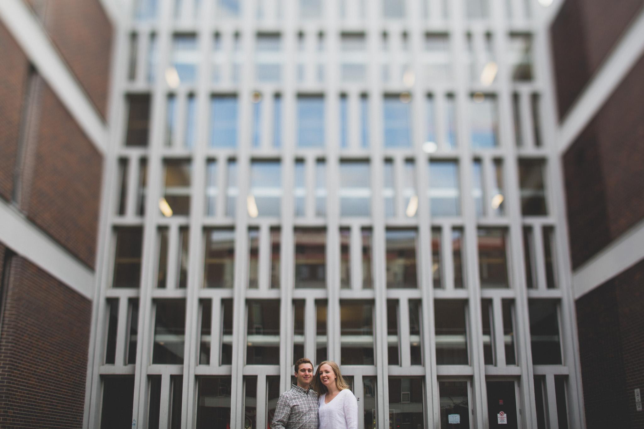 Carleton University Engagement Photos