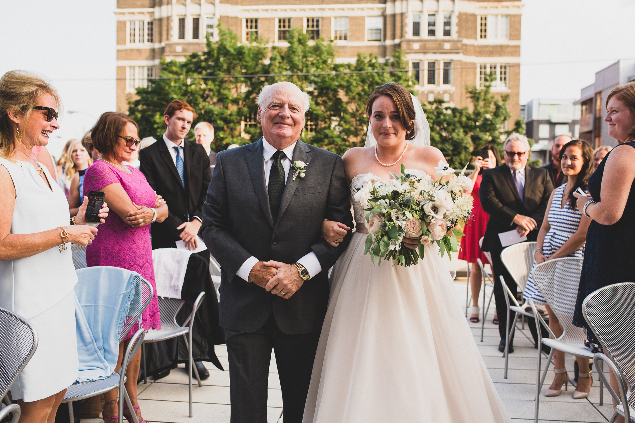 Emotional and romantic wedding photography