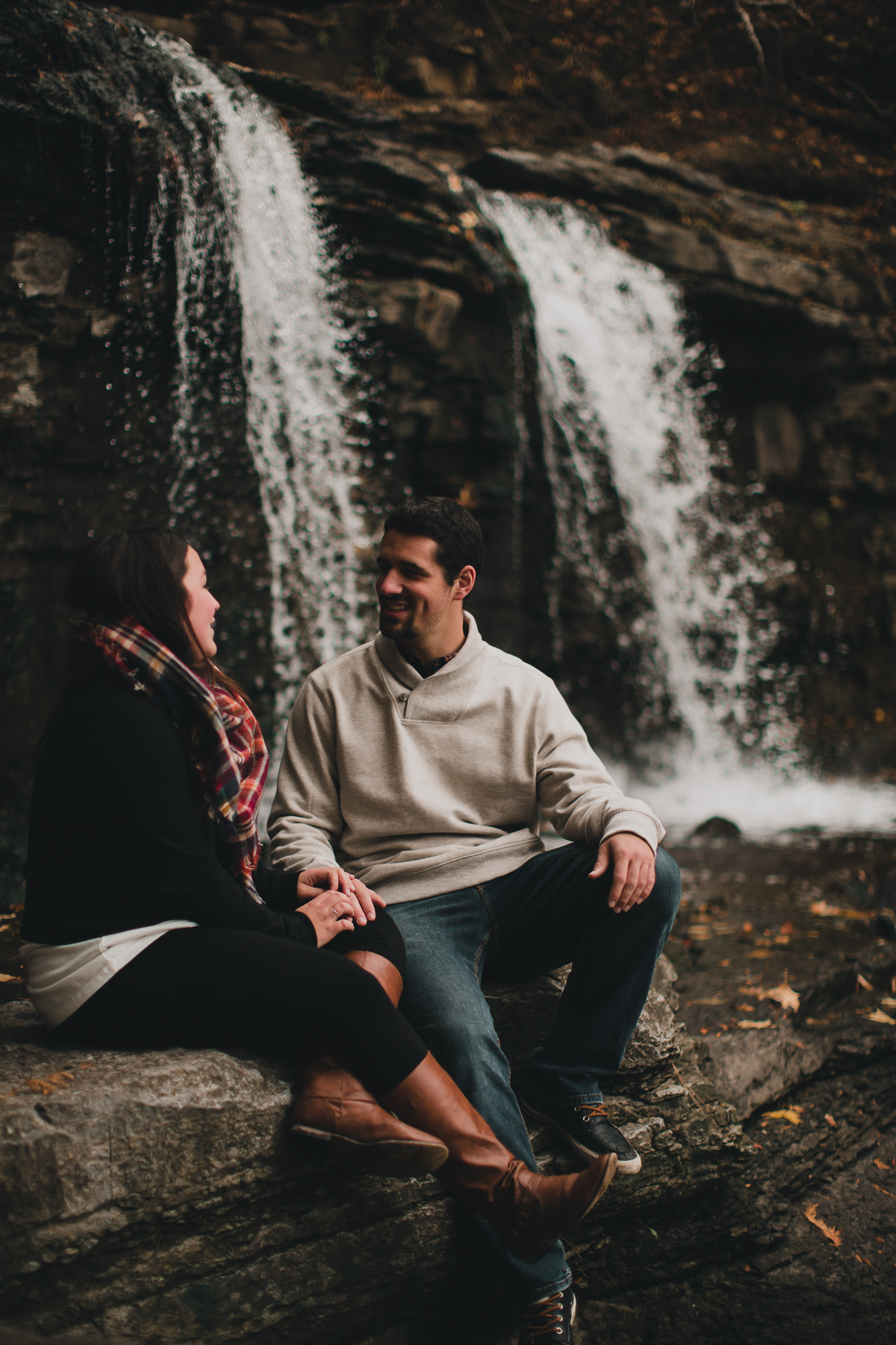 Princess Louise Falls Engagement Session